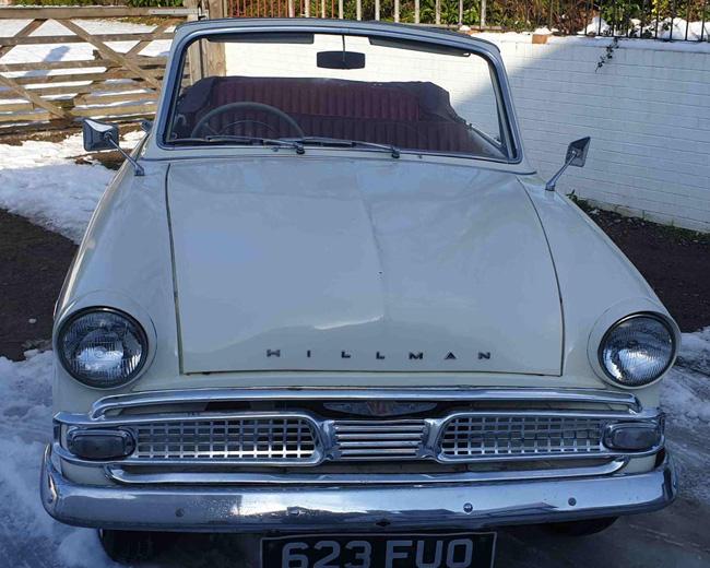 1960 Hillman Minx Series 3B Convertible