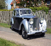 1954 Rolls Royce Silver Dawn in Blackpool