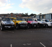 Jeep Limos and 4x4 Limos in East Midlands