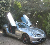 Mercedes Mclaren SLR Hire in East Anglia