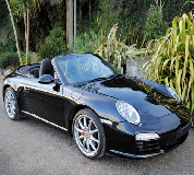 Porsche Carrera S Convertible Hire in North Wales