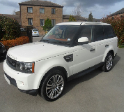 Range Rover HSE Sport Hire in East Midlands