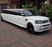 Range Rover Limo in York