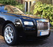 Rolls Royce Ghost - Black Hire in Merthyr Tydfil