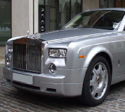 Rolls Royce Phantom - Silver Hire in Birmingham