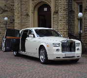 Rolls Royce Phantom Hire in Leeds