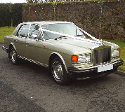 Rolls Royce Silver Spirit Hire in East Midlands