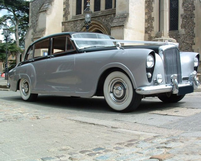 Silver Lady - Bentley Hire